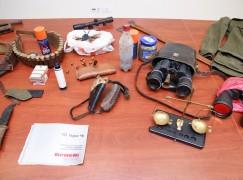 Antonimina. Rinvenuto un rifugio con armi e munizioni in pieno Aspromonte
