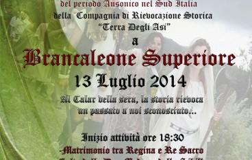 Brancaleone Superiore, rievocazione storica del Periodo Ausonico