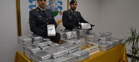 Sequestrati 55 Kg di cocaina purissima al Porto di Gioia Tauro