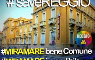 """Parte la campagna """"Save Reggio"""" per Miramare e Villino Benassai"""