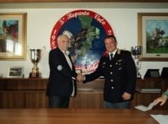 Reggio Calabria, protocollo d'intesa tra Inail e Quinto Reparto Volo Polizia
