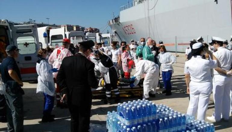A Reggio Calabria non si fermano gli sbarchi, arrivati 1373 immigrati