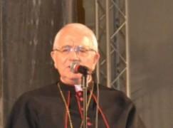 Vescovo Milito su Processione a Oppido Mamertina