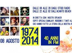 Grande festa per i 40 anni di Radio Studio 95, ospiti Danijay e Roby Rossini