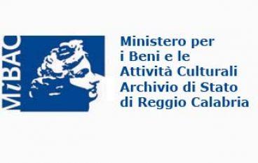 Reggio Calabria, apertura straordinaria dell'Archivio di Stato