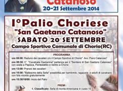 Chorio, al via i festeggiamenti in onore di San Gaetano Catanoso