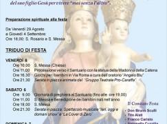 Festa in onore di Maria SS. della Catena a Bruzzano Zeffirio