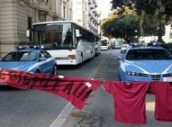 Reggio, Sit-in di lavoratori ex multiservizi