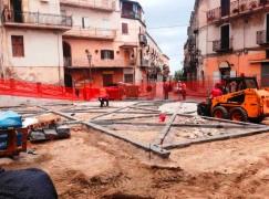 Rossano: lavori al centro storico