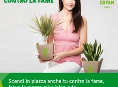 Oxfam Italia una pianta contro fame e povertà