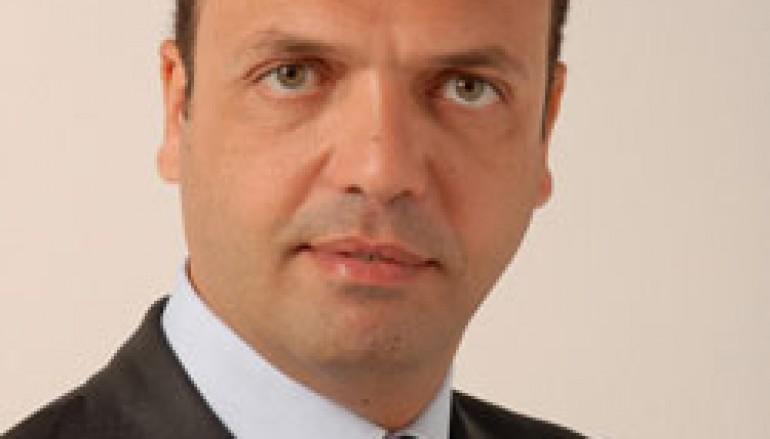 Il Ministro dell'Interno Angelino Alfano a Palmi