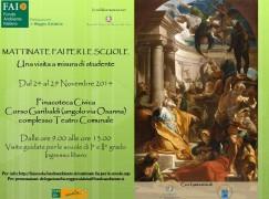 Reggio Calabria, Scuola in Pinacoteca: Mattinate FAI 2014