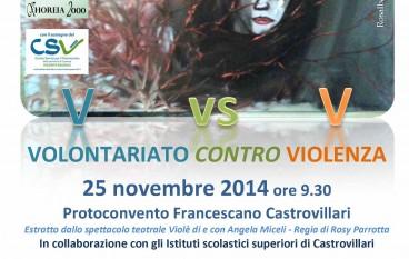 Castrovillari (Cs): La giornata contro la violenza sulle donne