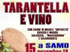 Samo (Rc), preparativi per la festa del vino