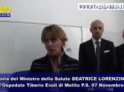 Melito Porto Salvo (Rc), Ministro Salute all'ospedale