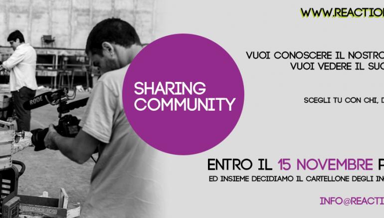 """Reggio Calabria, Reactioncity, """"Sharing Community"""" e le azioni prossime."""