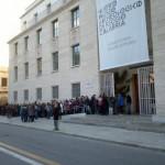 Bronzi di Riace: in fila davanti museo nazionale Magna Graecia