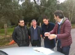 Cittanova (RC): consegna dei lavori strada provinciale 33