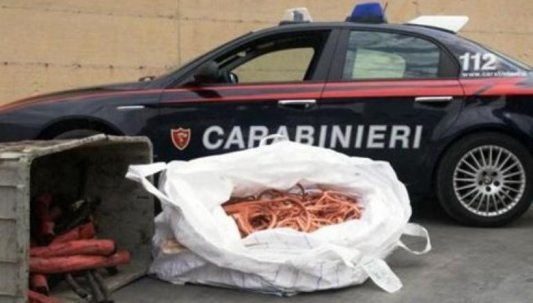 Villa San Giovanni, due arresti per furto aggravato di rame