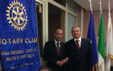 """Rotary Club Area grecanica: """"Solidarietà al sindaco Moio"""""""