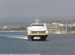 Stretto di Messina: disagi per i pendolari, aliscafi sospesi