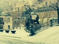 Area Grecanica sotto la neve
