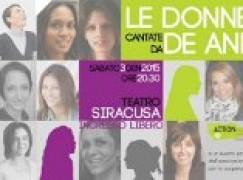 Reggio Calabria, le donne cantate da De André