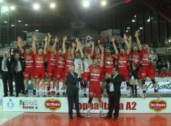 Volley, Tonno Callipo, la Coppa Italia è tua!