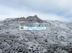 Area grecanica di nuovo sotto la neve