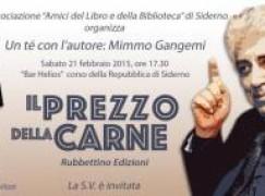 Siderno (Rc), gli Amici della Biblioteca incontra Mimmo Gangemi