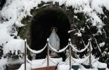 Roccaforte del Greco (Rc), lo spettacolo della neve