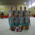 Le giovanissime ginnaste della restart