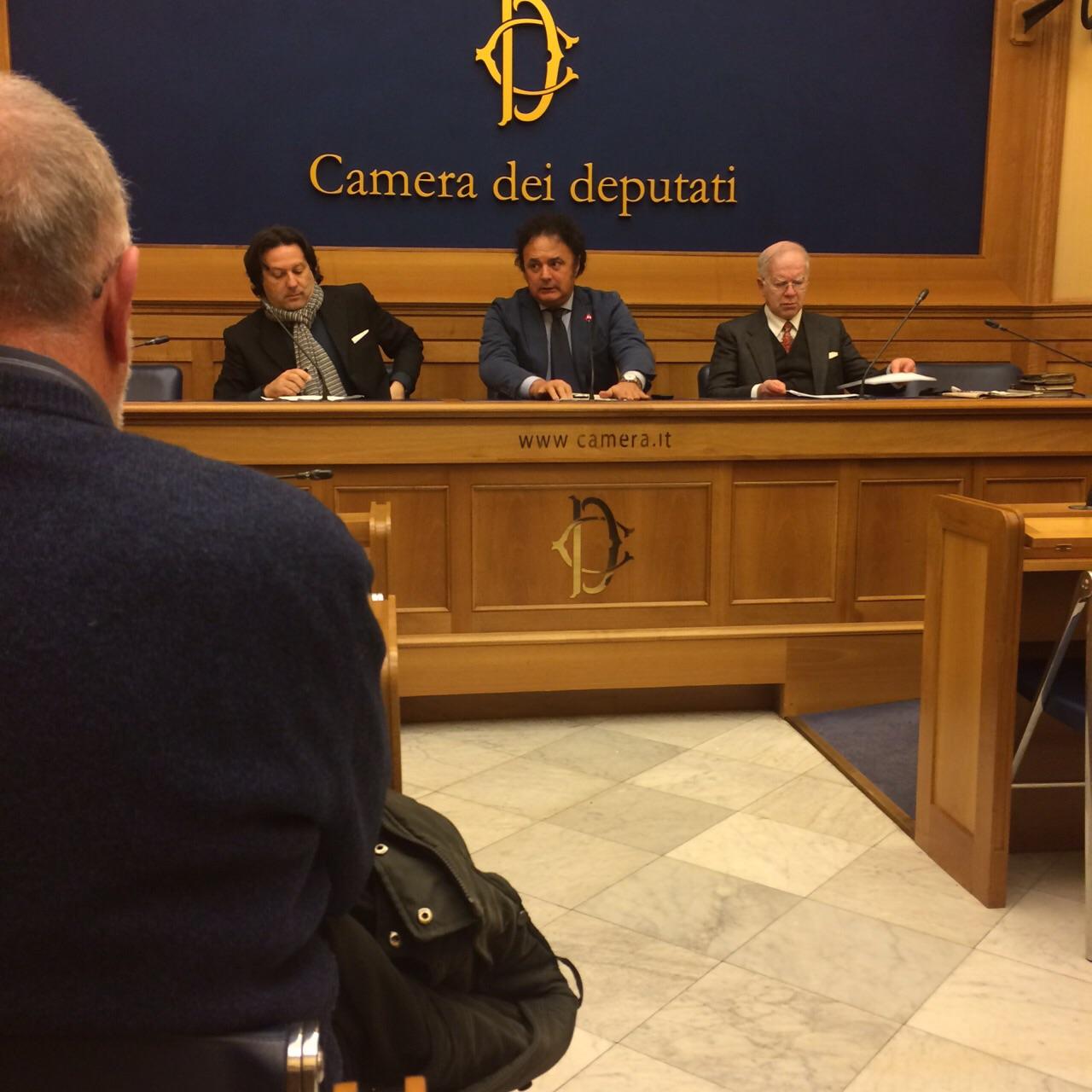 Presentato alla camera dei deputati il libro sul movimento for Rassegna stampa camera deputati