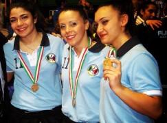 Il Kata femminile senior di Melito Porto Salvo terzo ai campionato italiano