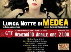 """La """"Lunga notte di Medea in scena al teatro """"Cilea"""""""