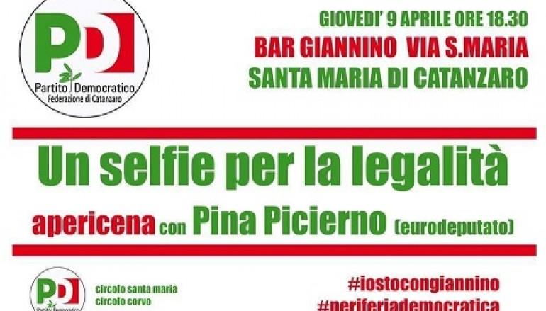 """""""Selfie per la Legalità"""", incontro organizzato dal PD"""