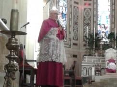 Don Sebastiano Plutino nel Capitolo dei Canonici