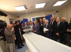 Crotone, Oliverio inaugura postazione Tac all'ospedale