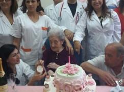 Melito Porto Salvo  (Rc), auguri per i 105 anni a Trunfio Giuseppina