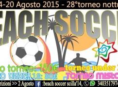 Scilla, il Beach Soccer protagonista nella Costa Viola