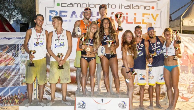 Amantea, concluso il torneo di Beach Volley