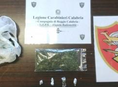 Droga, arrestato pusher a Reggio Calabria