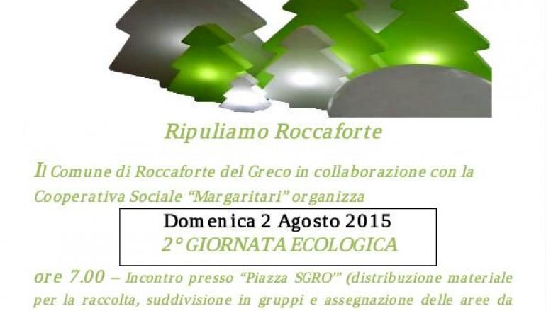 Roccaforte del Greco, presentata la seconda Giornata Ecologica