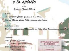 """Bova Marina (Rc), presentazione del libro di Macrì : """" Il tempo, il viaggio e lo spirito"""""""