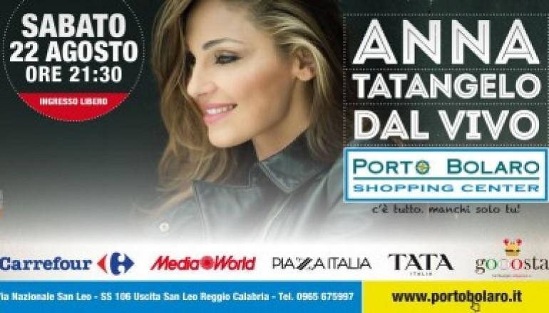 Pellaro (Rc), Anna Tatangelo in concerto a Porto Bolaro