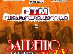 """I Fuori Tempo Massimo sul palco con """"Sanremo Story"""""""