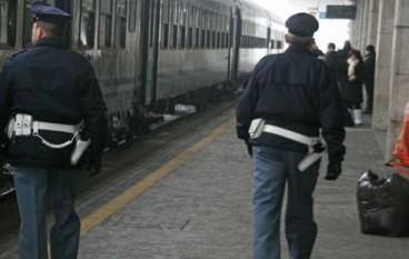 Effettuati controlli di sicurezza sui treni e nelle stazioni ferroviarie