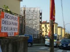 Catanzaro, sciopero della fame dei Vigili del Fuoco