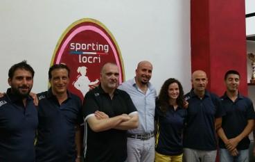 Sporting Locri, presentato lo staff