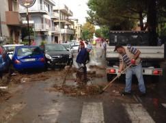 Emergenza meteo, primi interventi strutturali a Rossano
